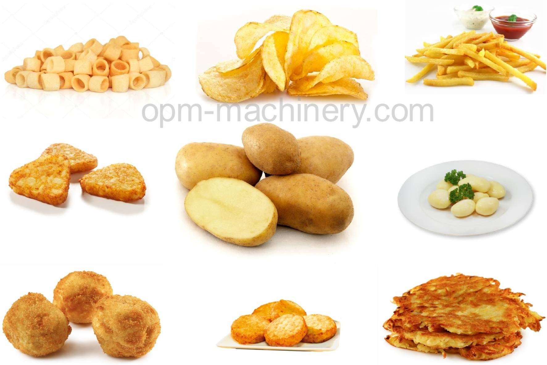 other potatoes products