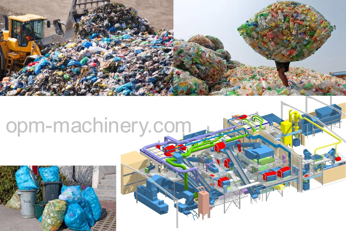 waste sorting & processing